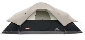 Coleman 8-Person Red Canyon Tent cabin
